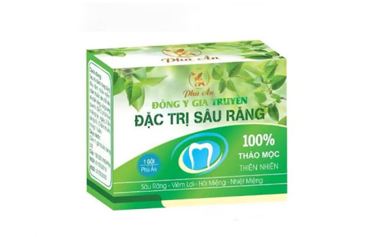 Thuốc sâu răng Phú Ân được nhiều người ưa chuộng chữa sâu răng hiệu quả cao.