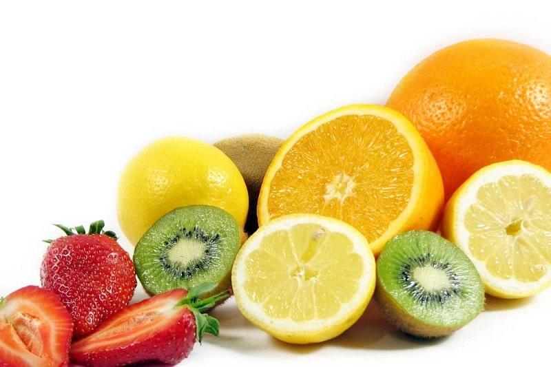 Trái cây có hàm lượng vitamin C cao cũng rất tốt