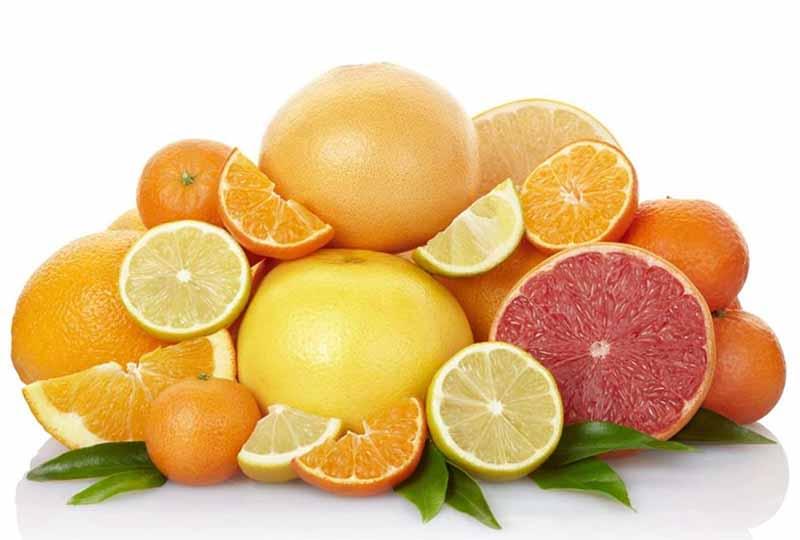 Các loại trái cây tươi chứa nhiều vitamin C rất tốt cho sức khỏe răng miệng