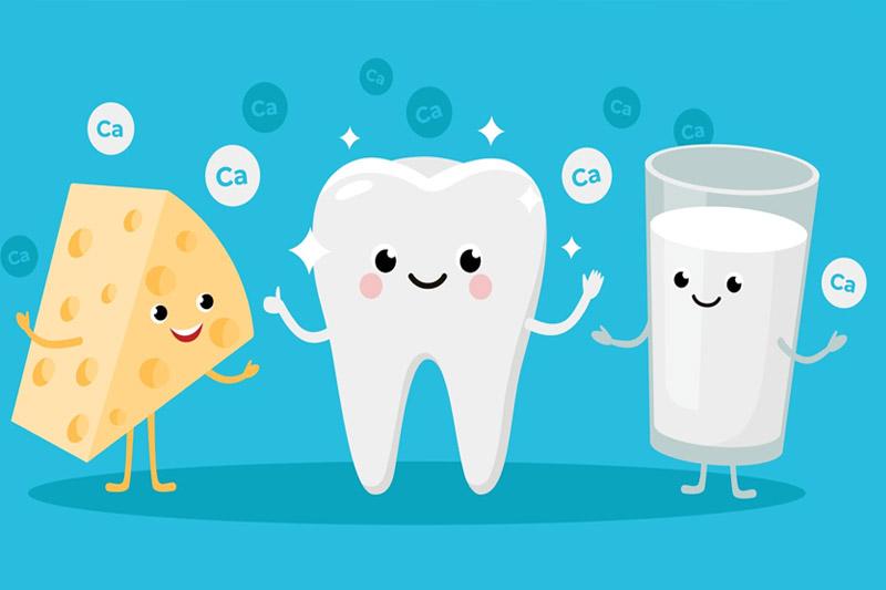 Thiếu canxi hay flour khiến răng cửa có nguy cơ bị sún cao hơn