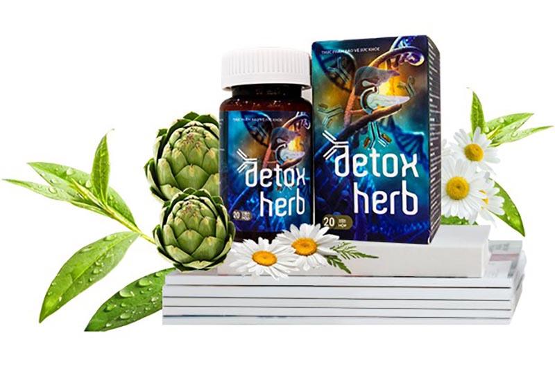 Detox Herb có chiết xuất từ thảo dược nên an toàn cho người sử dụng