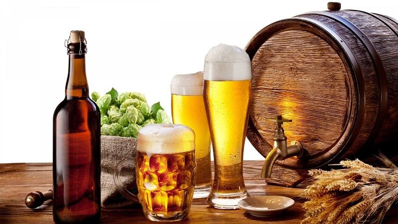 Tránh dùng bia, rượu, cà phê