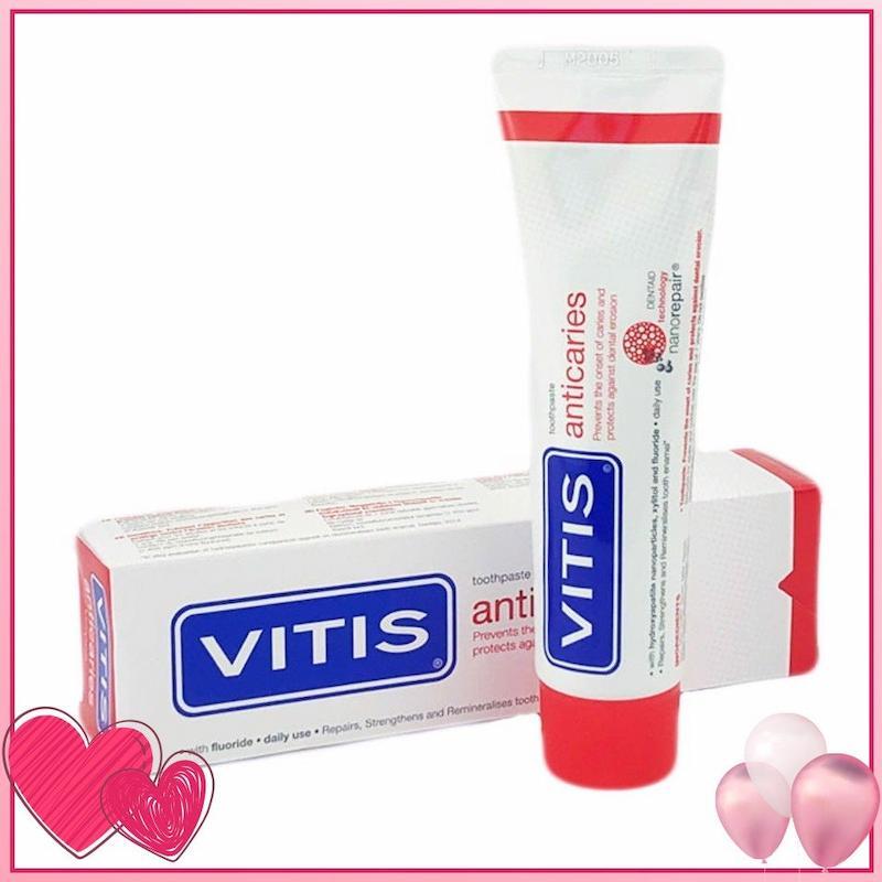 Sản phẩm kem đánh răng Vitis Anticaries