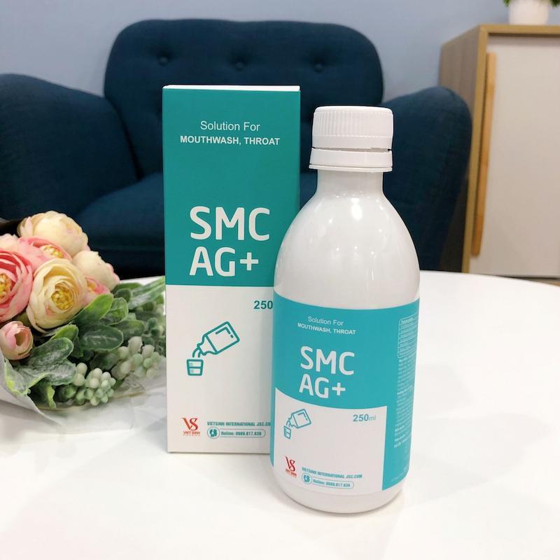 Sản phẩm nước súc miệng SMC AG+
