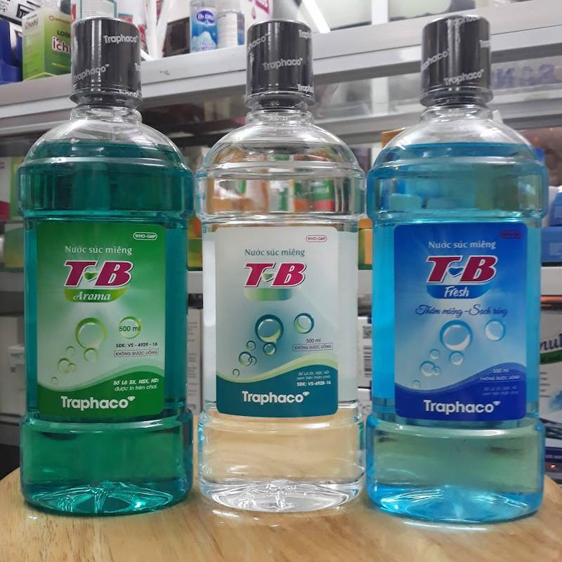 Sản phẩm nước súc miệng T-B giúp ngăn ngừa sâu răng và hôi miệng hiệu quả