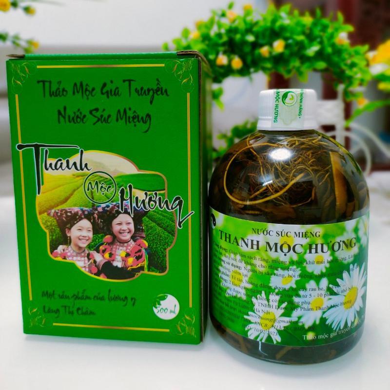 Thuốc súc miệng đặc trị sâu răng cho bà bầu Thanh Mộc Hương
