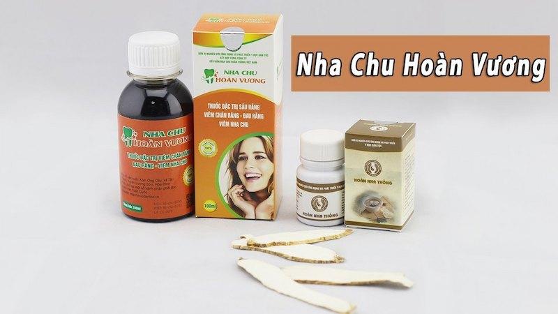 Sản phẩm thuốc trị sâu răng cho bé hiệu quả Nha Chu Hoàn Vương