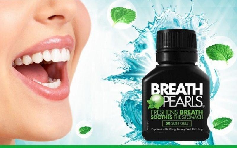 Thuốc trị sâu răng hôi miệng Breath Pearls