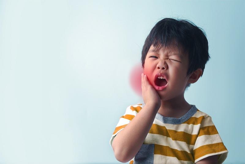 Tác hại khi trẻ bị sâu răng sữa