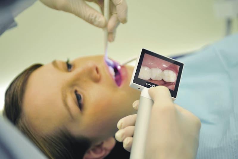 Máy ảnh trong miệng đã chính thức có mặt tại Viện Nha khoa Vidental