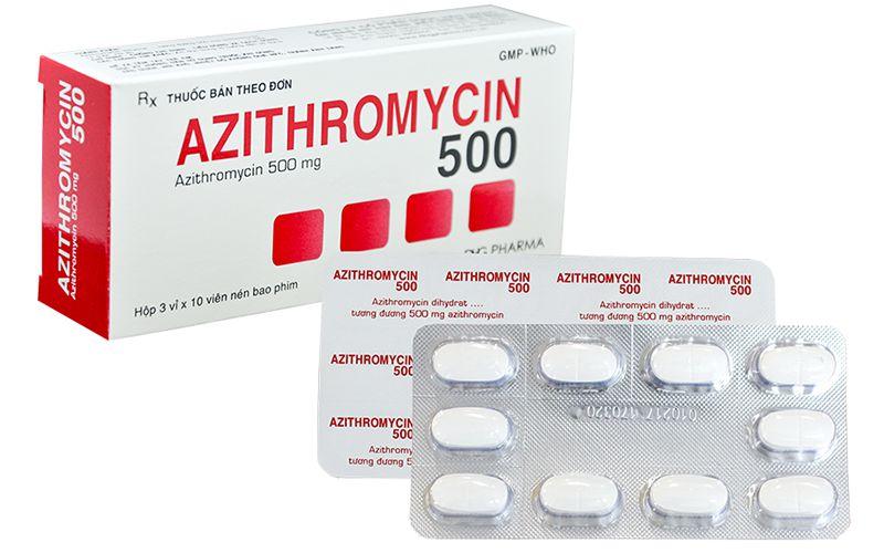 Azithromycin là một trong những loại thuốc chữa viêm lợi cho phụ nữ cho con bú an toàn hiệu quả nhất hiện nay
