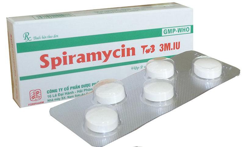 Thuốc Spiramycin là thuốc điều trị nên cần được sử dụng theo đúng chỉ dẫn của bác sĩ