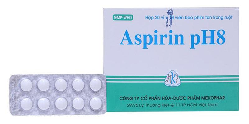 Aspirin không chứa steroid, có khả năng kiểm soát được nhiều bệnh lý khác nhau