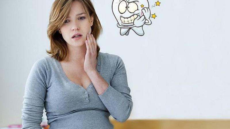 Bà bầu bị đau răng do rất nhiều nguyên nhân khác nhau