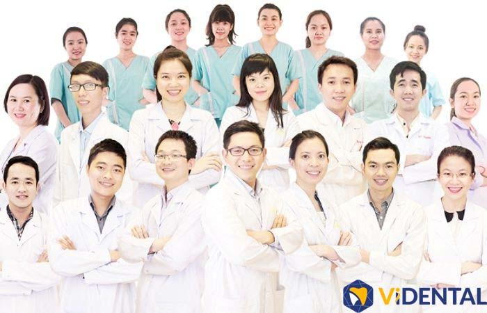 Đội ngũ bác sĩ chuyên môn cao, kinh nghiệm lâu năm hàng đầu tại Viện Nha khoa Vidental