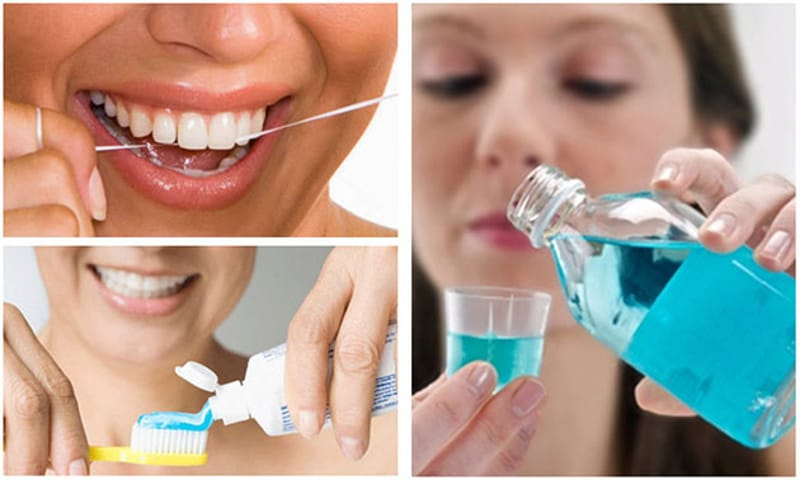 Vệ sinh khoang miệng đúng cách giúp đảm bảo sức khỏe răng miệng cho bệnh nhân